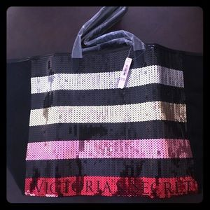 VS sequined tote bag New
